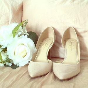 Nude Jessica Simpson heels